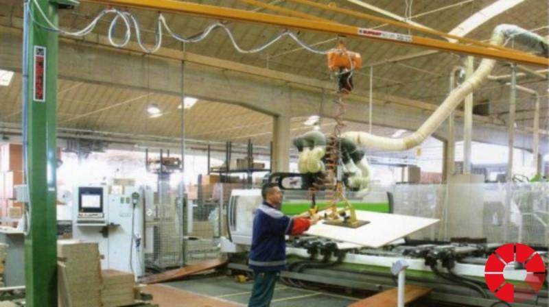 Impianto di sollevamento paranco for Paranco a bandiera